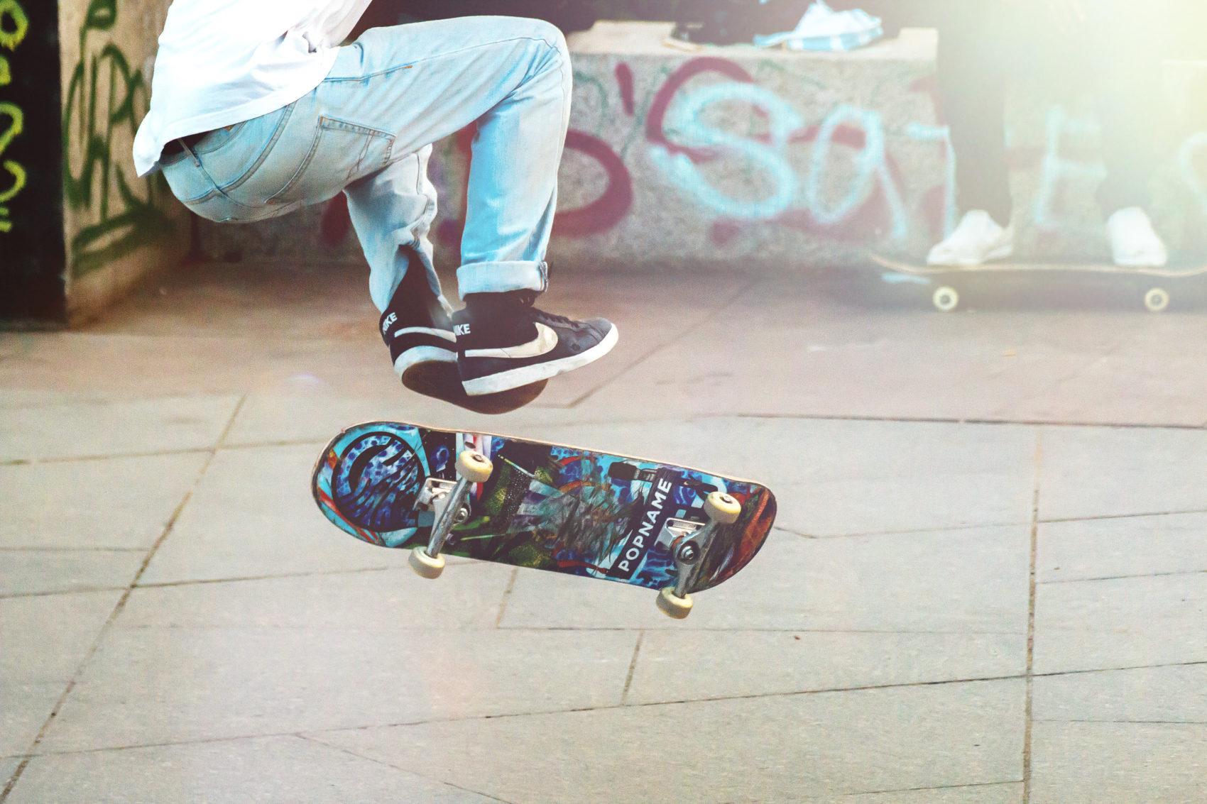 Apprendre Skate Colonies vacances l'été