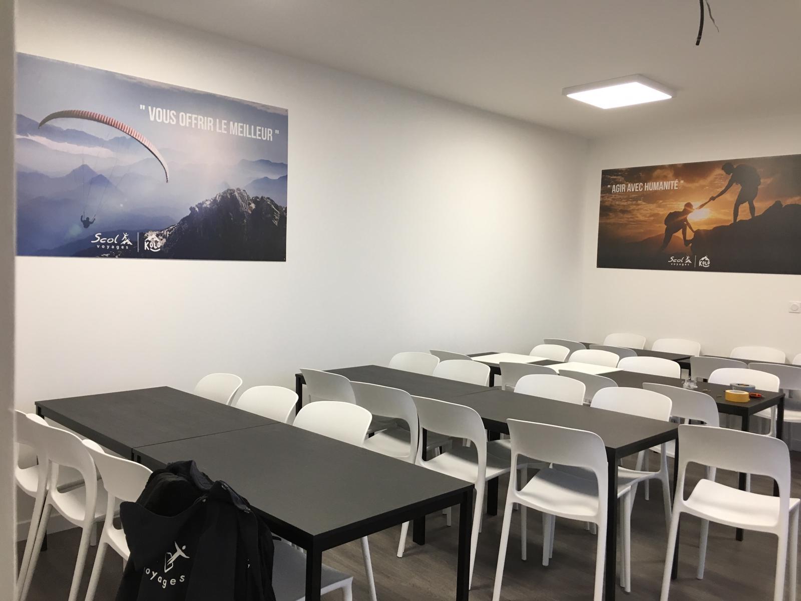 Intérieur du centre Le Bellevue a Saint Sorlin d'Arves, centre Kolo Vacances