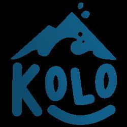 Logo Kolo Vacances, le spécialiste de la colonie de vacances été comme hiver, à la mer ou à la montagne