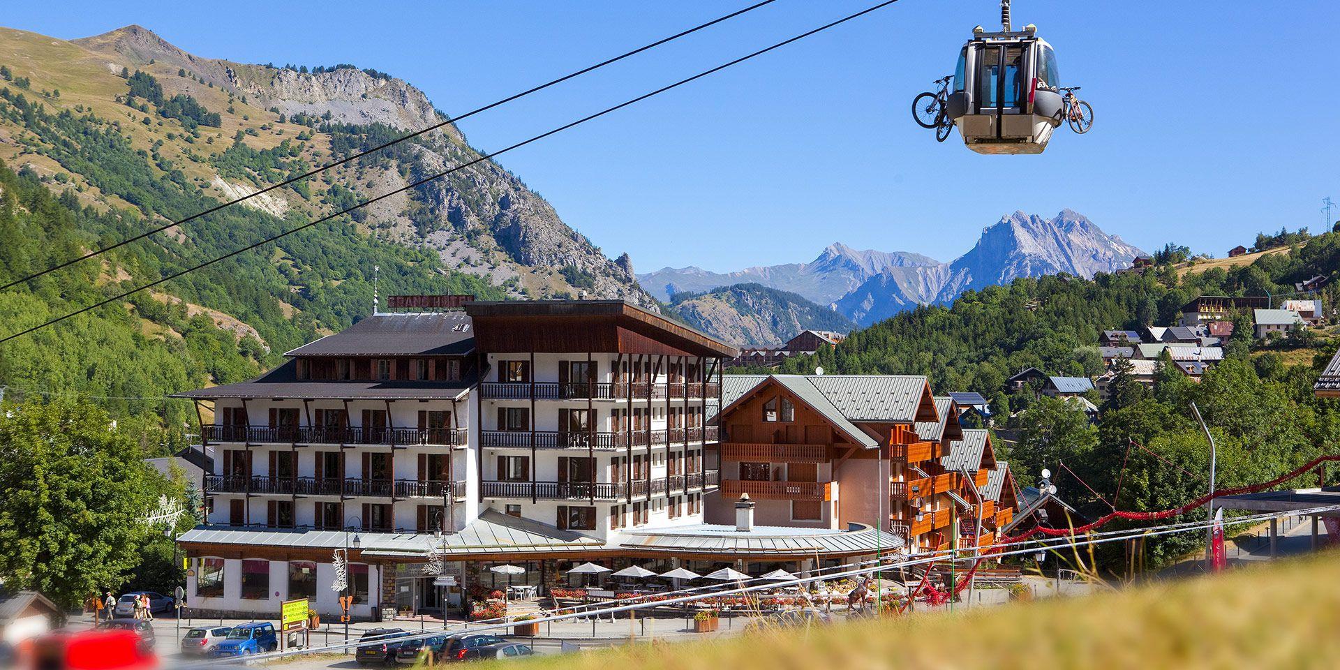 Valloire en été Kolo Vacances colonie de vacances a la montagne
