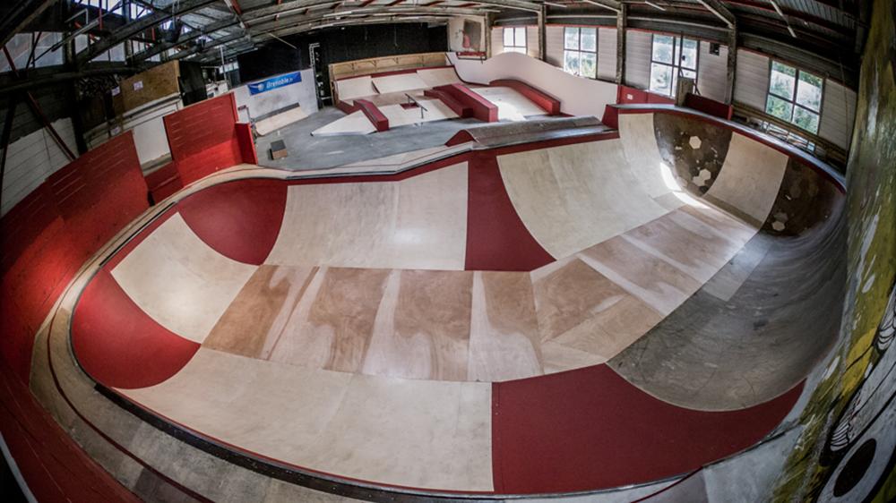 Skate park de Grenoble