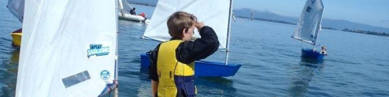 Optimiste en colo nautique séjour à la mer